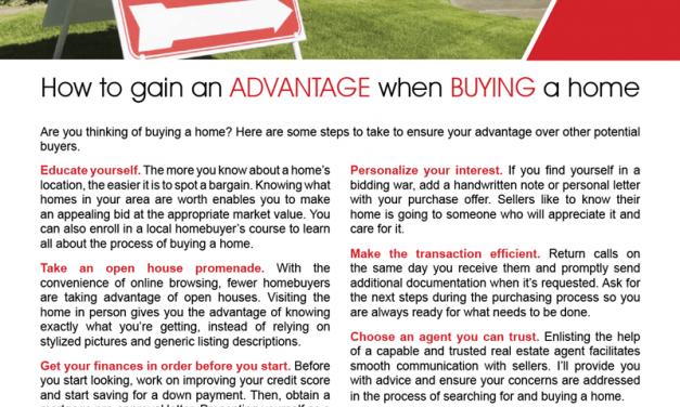 FARM: How to gain an advantage when buying a home