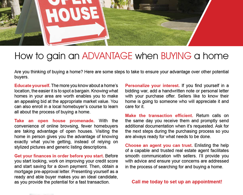 FARM: How to gain an advantage when buying a home
