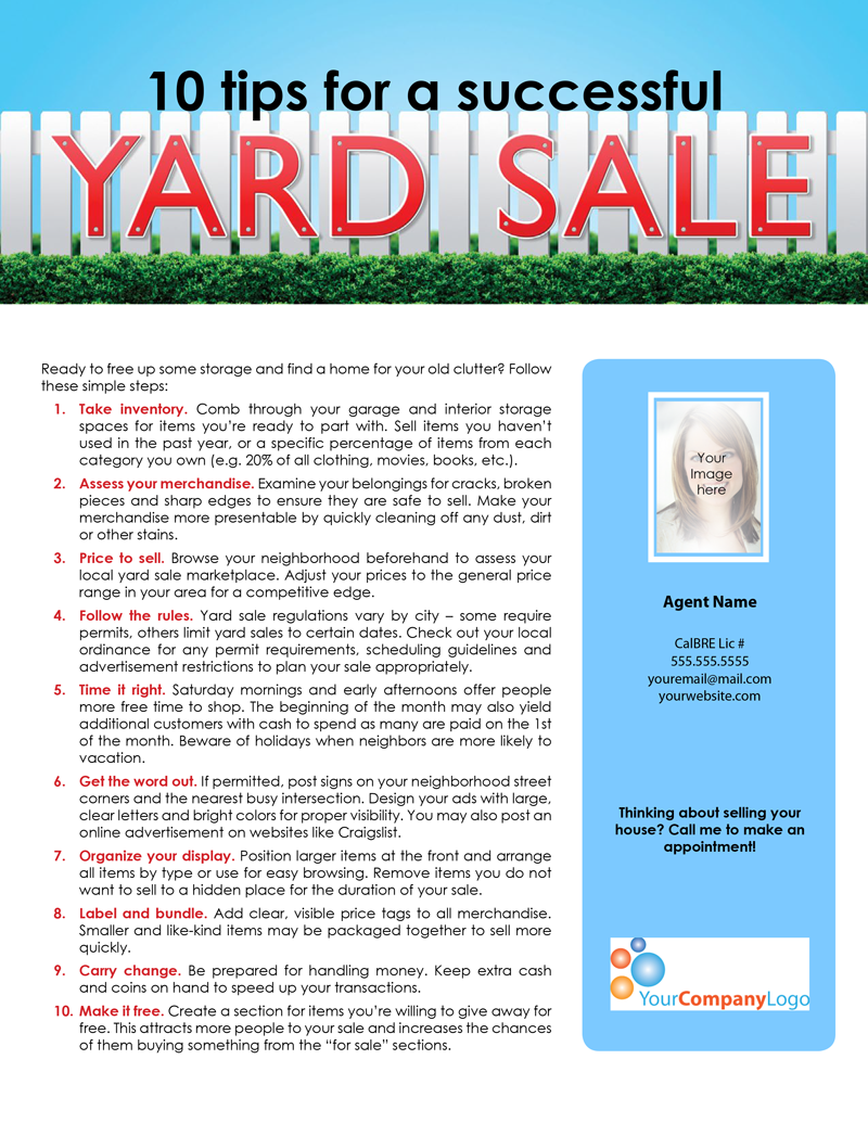 YardSaleTips