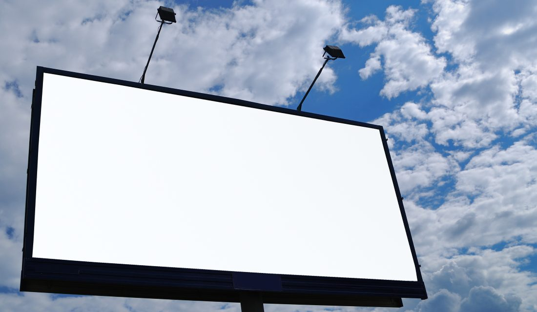 CalBRE license exclusion for outdoor ad reps
