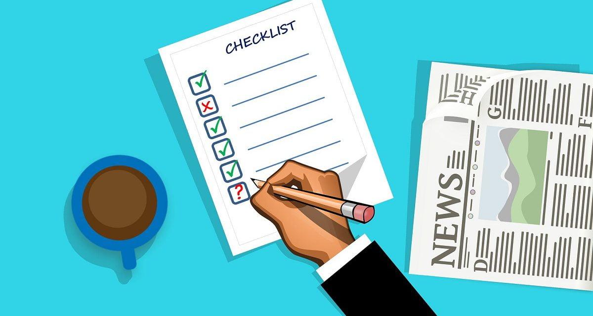 Brokerage Reminder: Transaction coordination sheets – your checklist to success