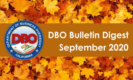 DBO Bulletin Digest September 2020