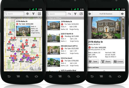 Real Estate Tech Corner: Zillow mobile app