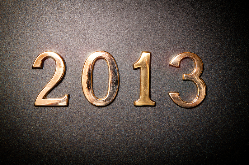 A glance back and a glimpse of the future: first tuesday's 2013 year in review