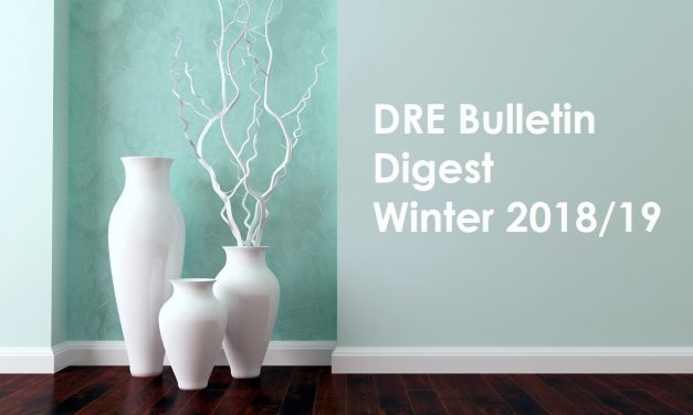 DRE Bulletin Digest Winter 2018/19
