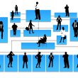 Broker-agent hierarchy
