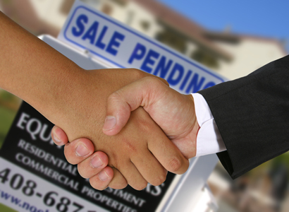 Does referring buyer to builder and accepting fee establish agency?