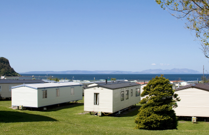 Is mobilehome park management exempt from their own no-rental policy?