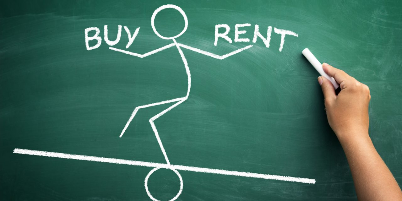 Residential rents outpace home prices