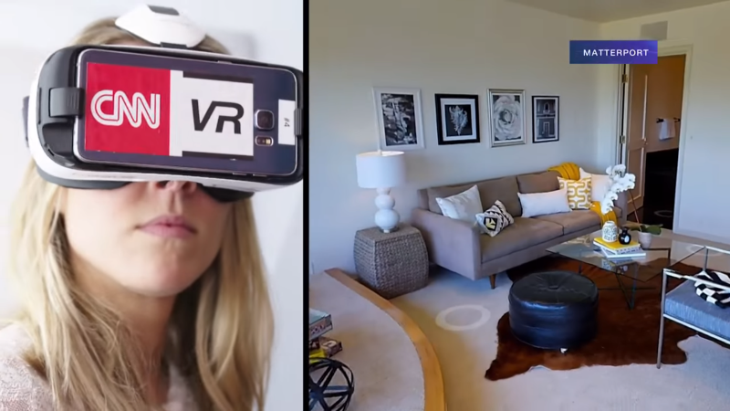 Virtual reality home listings and open houses