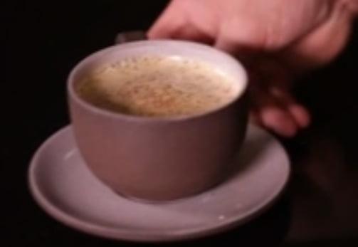 Just for fun: bitter Irish coffee